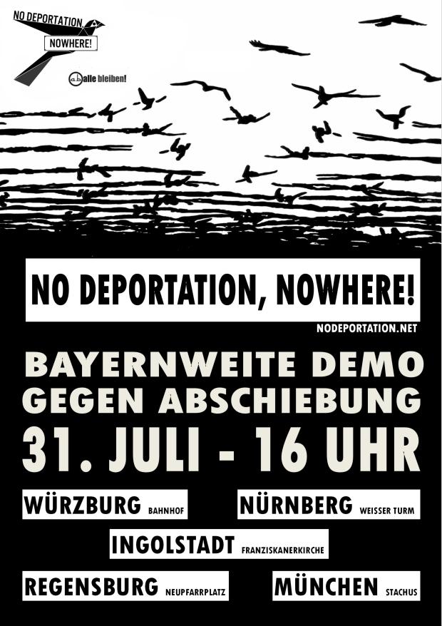 Plakat Demo 3107